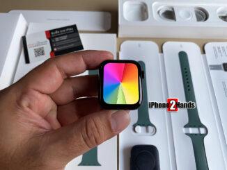 ขาย Apple Watch Sereis 5 สีดำ 44MM GPS ศูนย์ไทย ครบกล่อง ราคาถูก