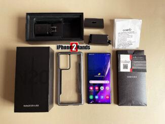 Note 20 Ultra 5G สีดำ 256gb ศูนย์ไทย สภาพ 99.99% ใหม่ๆ พร้อมใบเสร็จ ราคาถูก